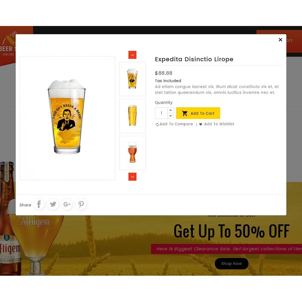 theme - Bebidas & Tabaco - Beer & Winery - 7