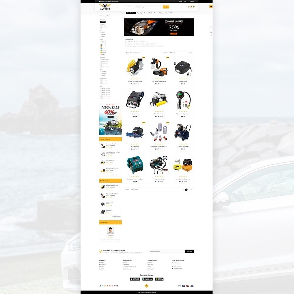 theme - Autos & Motorräder - Autoric – Autopart and Tools Super Store - 3