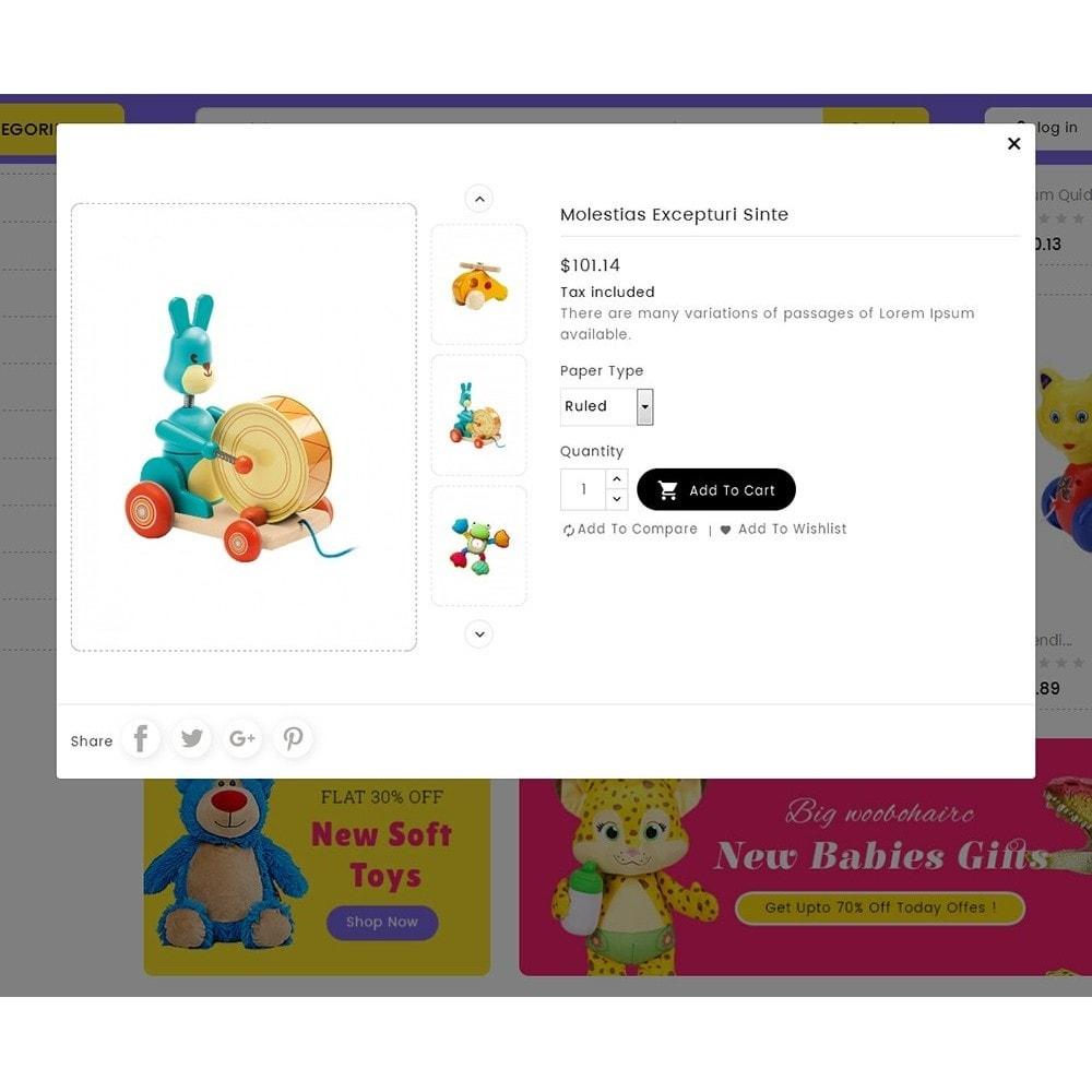 theme - Дети и Игрушки - Mega Cell Kid Toys - 7
