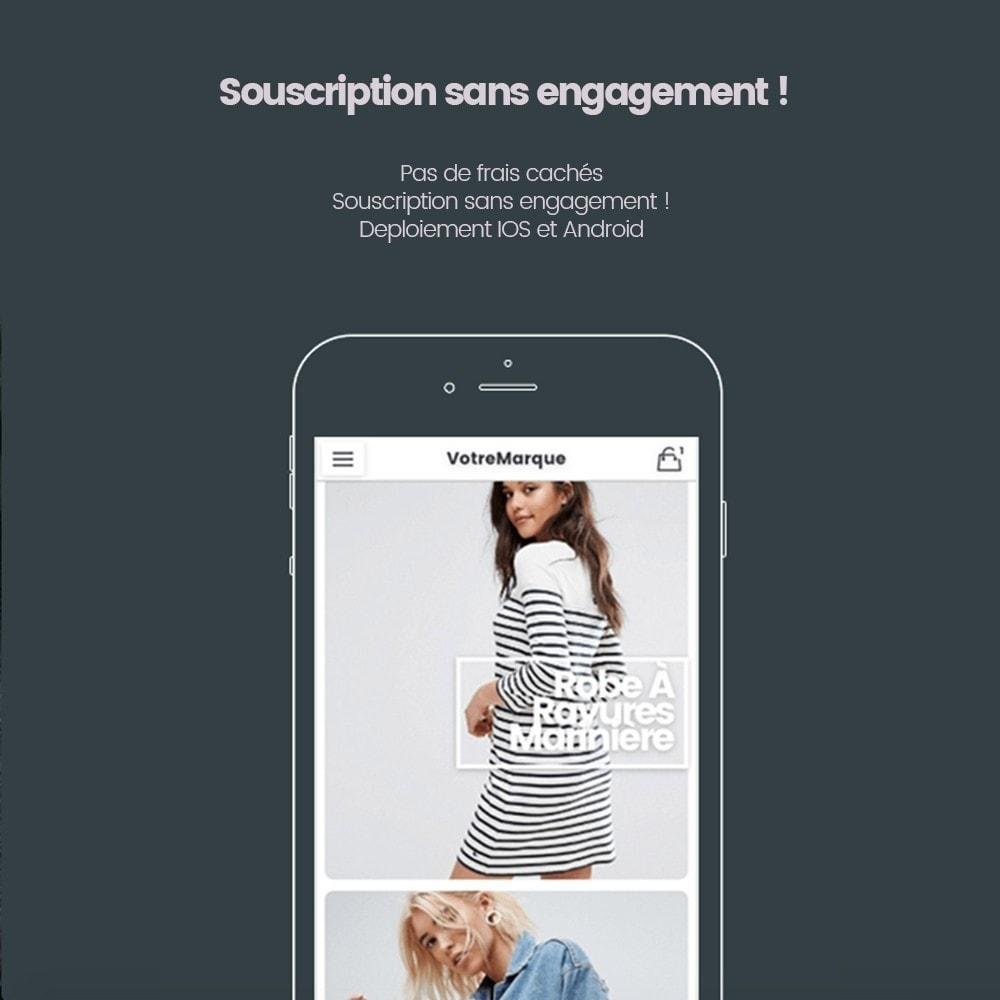 module - Mobile - Transformez votre e-commerce en Application mobile - 2