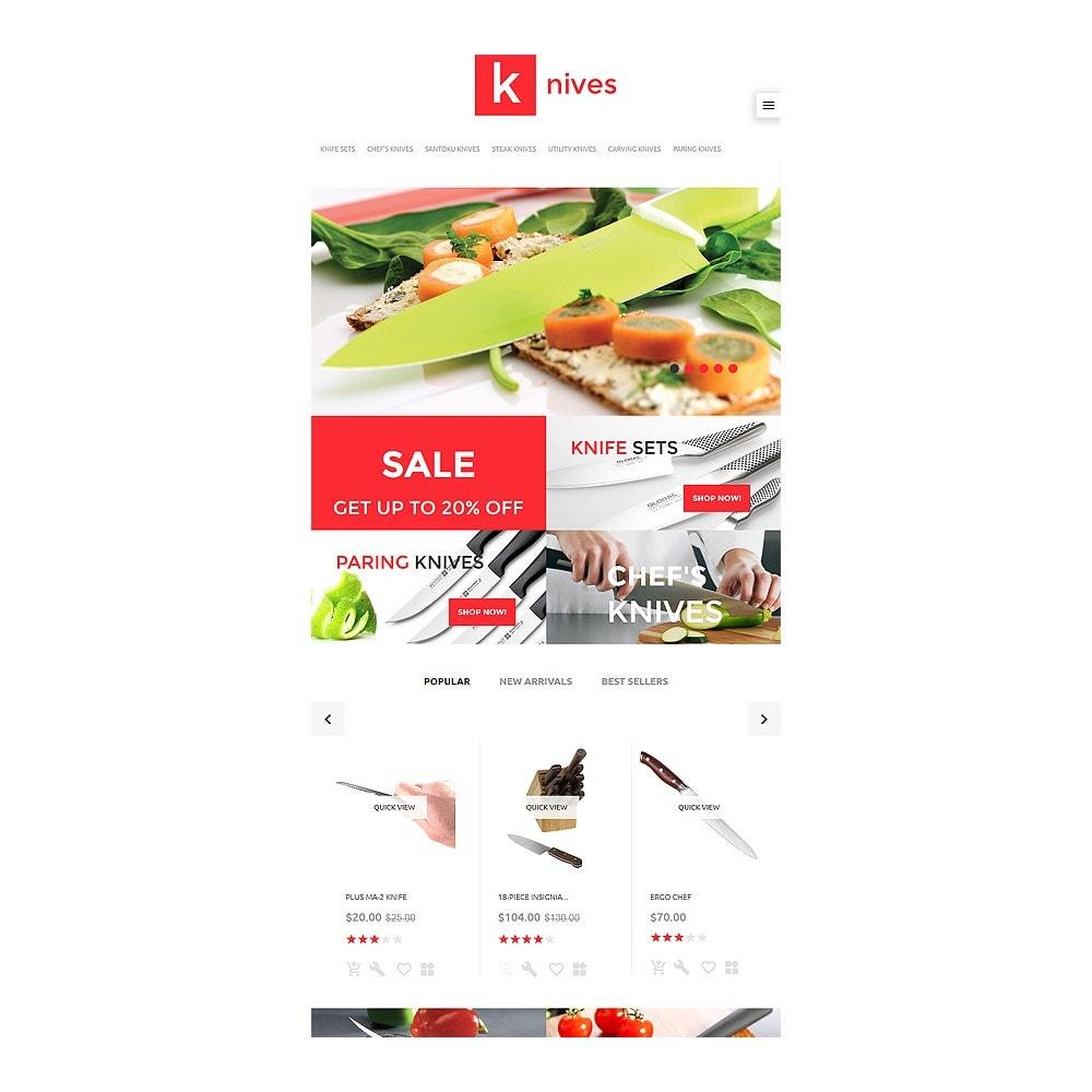 theme - Arte y Cultura - Knives - 7