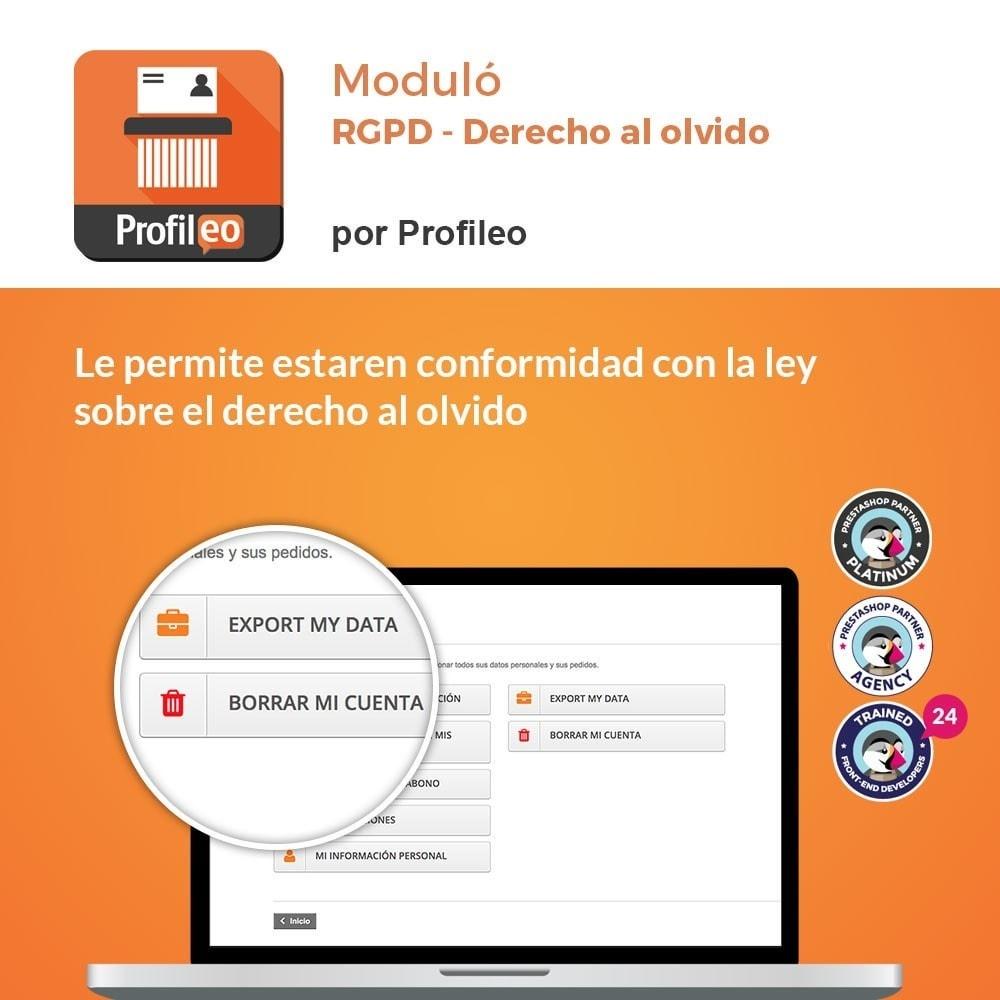module - Marco Legal (Ley Europea) - RGPD - Derecho al olvido - 1