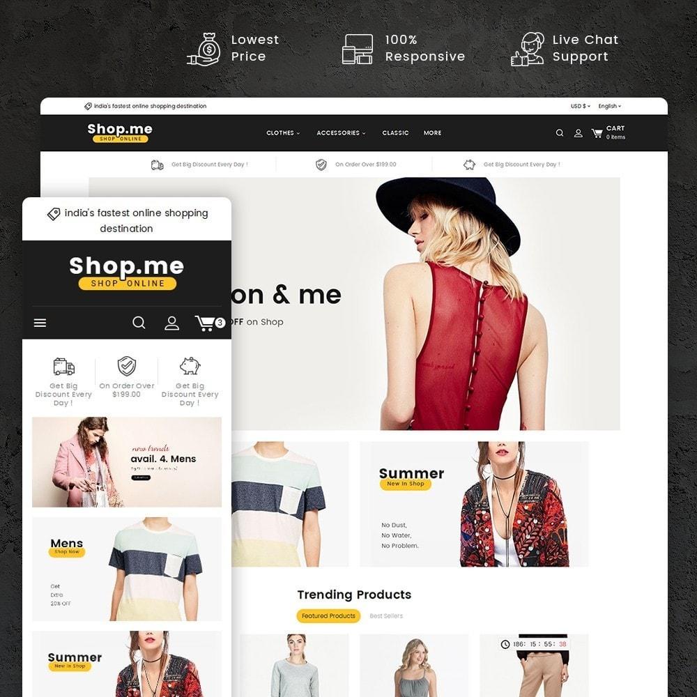 theme - Fashion & Shoes - Shopme Fashion Apparels - 1