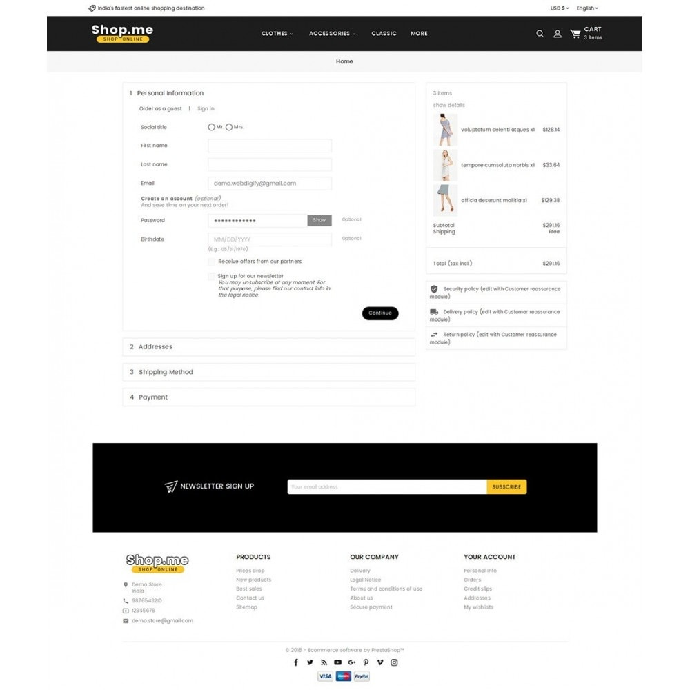 theme - Fashion & Shoes - Shopme Fashion Apparels - 7