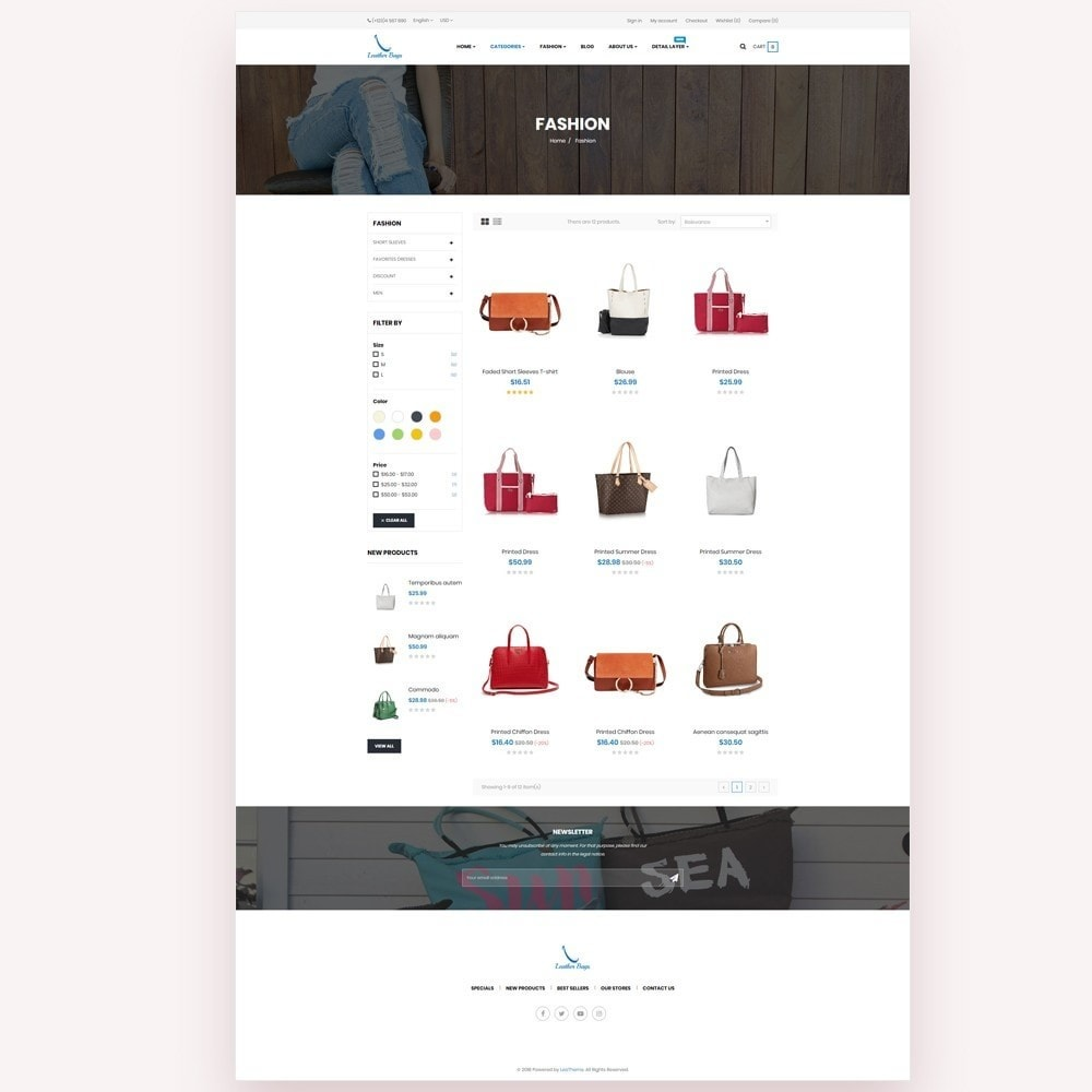 theme - Mode & Schuhe - Leather Bags Store - 3