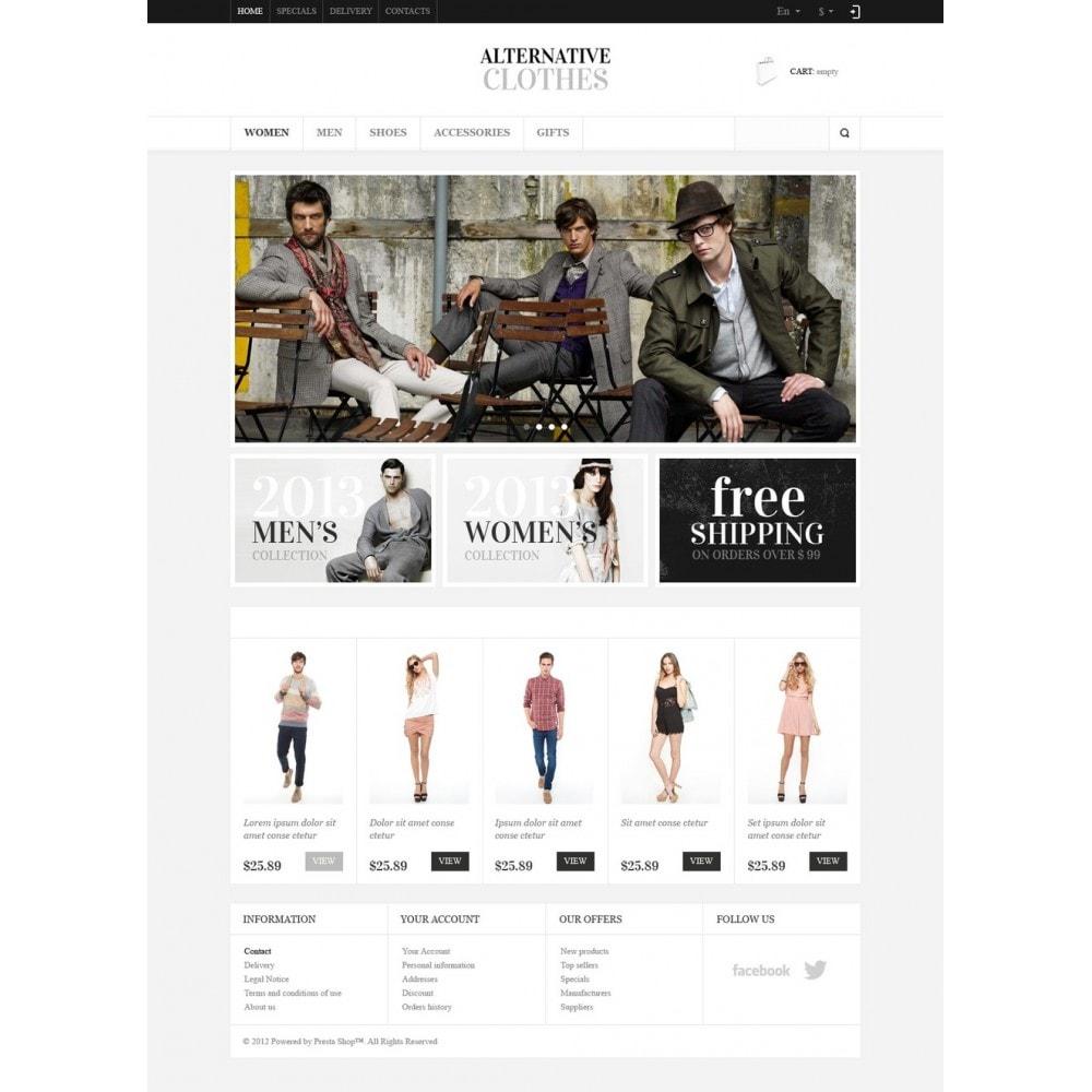 theme - Moda & Obuwie - Alternative Clothes Store - 5