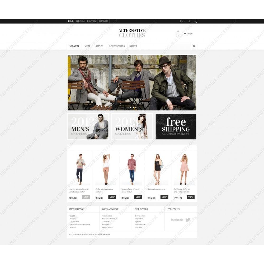 theme - Moda & Obuwie - Alternative Clothes Store - 6