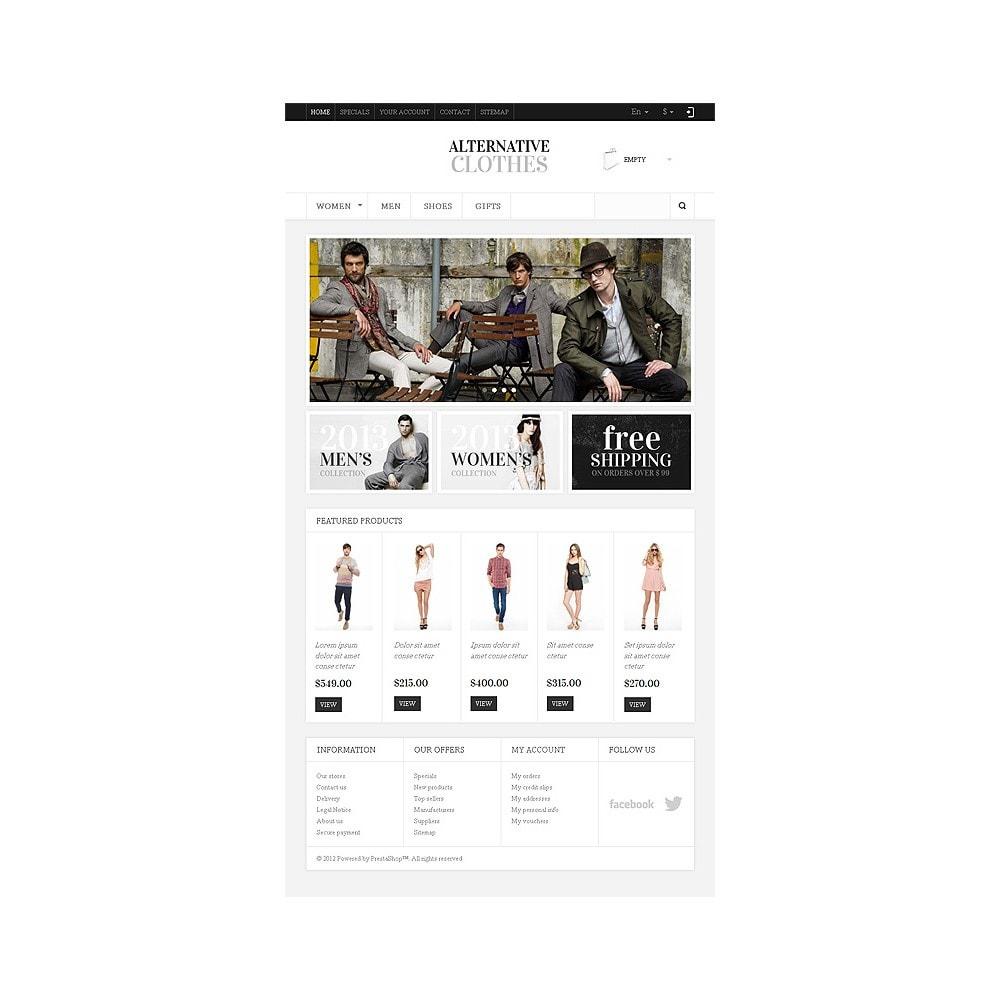 theme - Moda & Obuwie - Alternative Clothes Store - 8