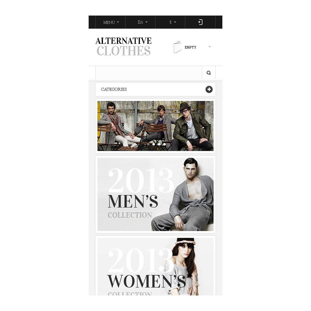 theme - Moda & Obuwie - Alternative Clothes Store - 9