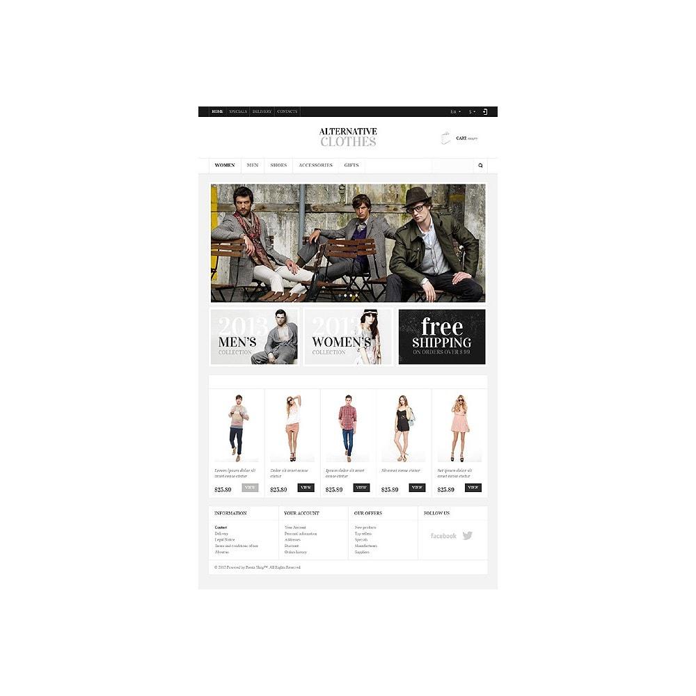 theme - Moda & Obuwie - Alternative Clothes Store - 11