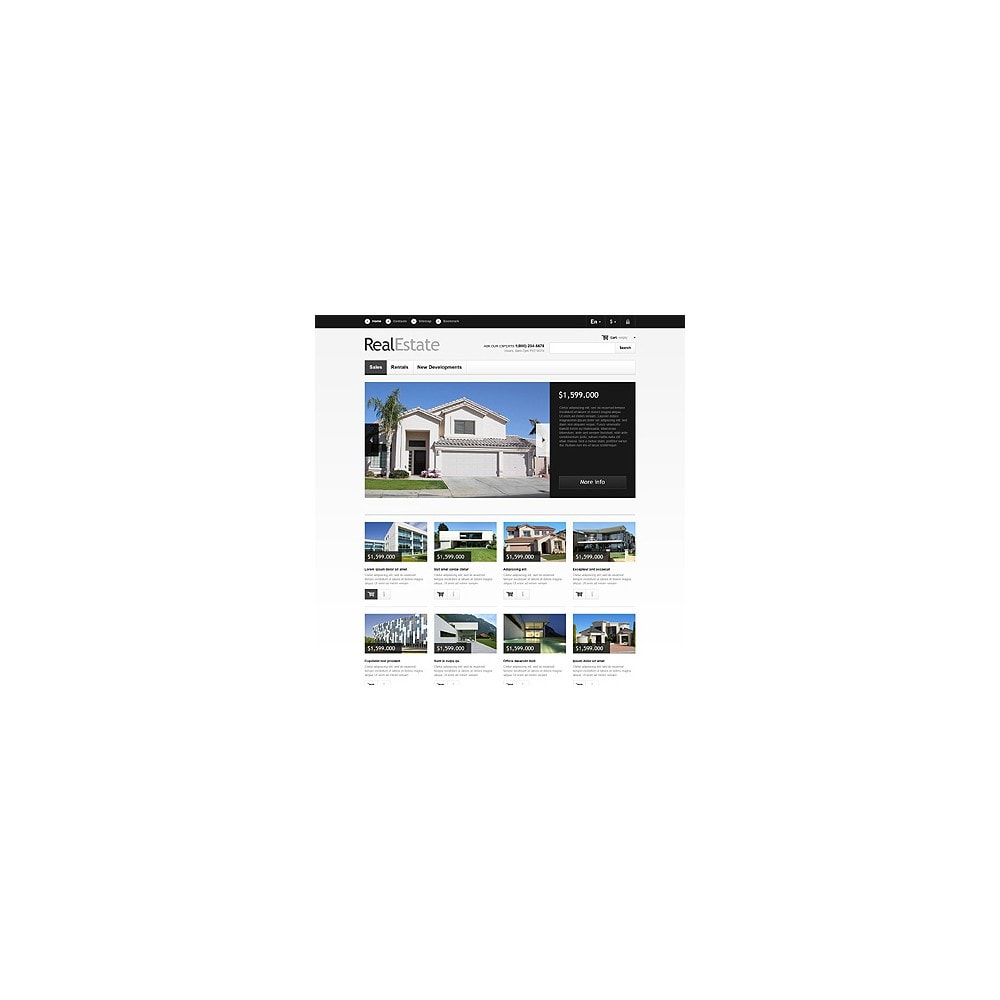 theme - Hogar y Jardín - Real Estate Market - 3
