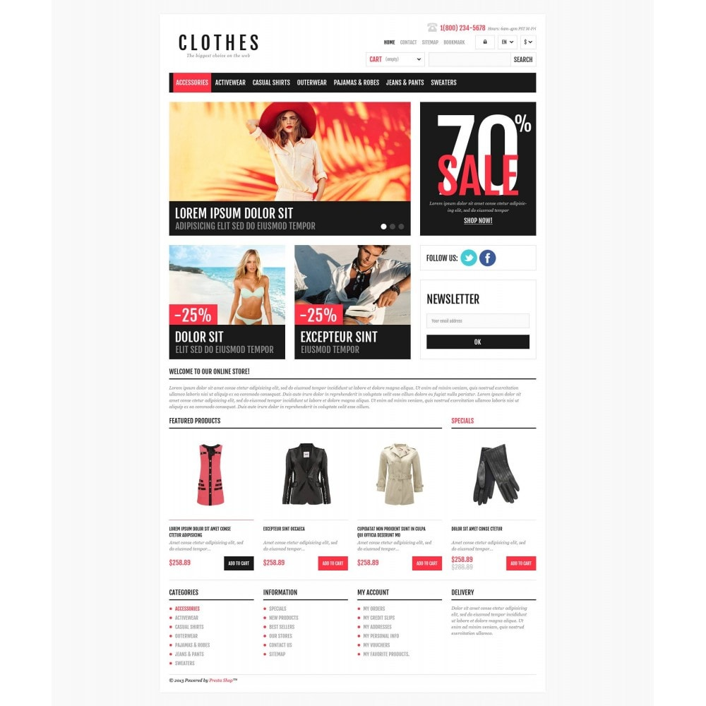 theme - Mode & Schuhe - Responsive Clothing Shop - 4