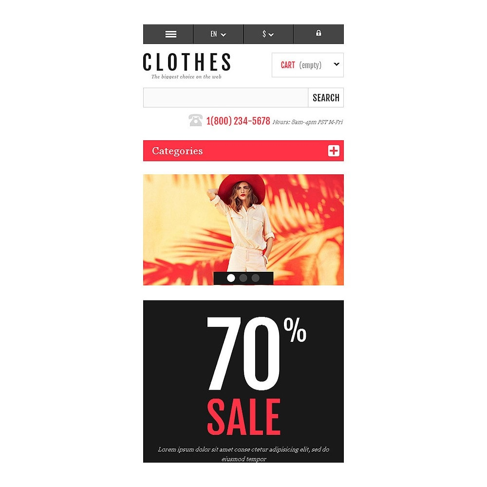 theme - Moda & Obuwie - Responsive Clothing Shop - 8