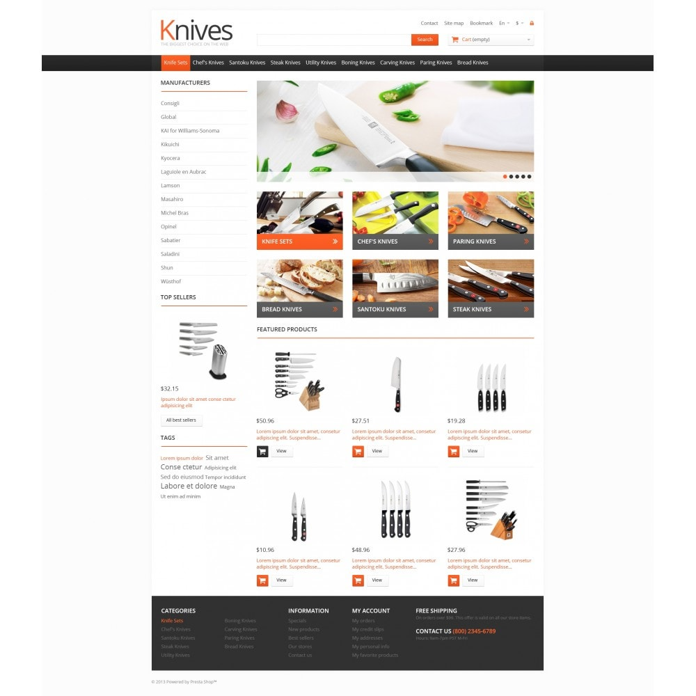 theme - Arte e Cultura - Knives for Easy Cooking - 4