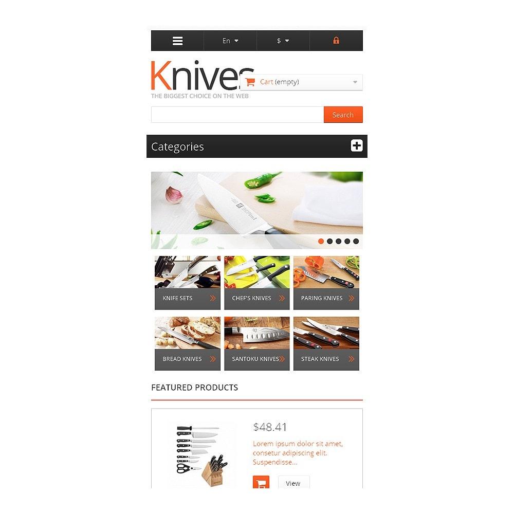 theme - Arte e Cultura - Knives for Easy Cooking - 8
