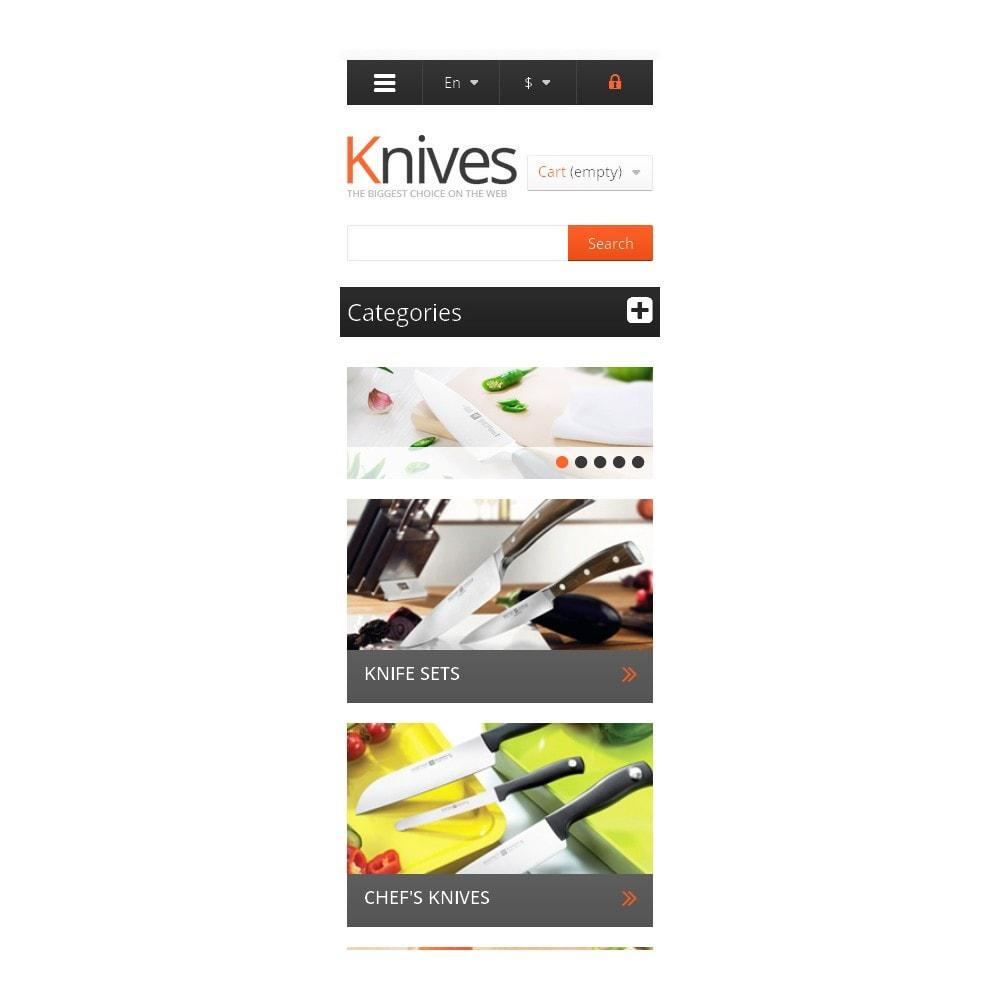 theme - Arte e Cultura - Knives for Easy Cooking - 9