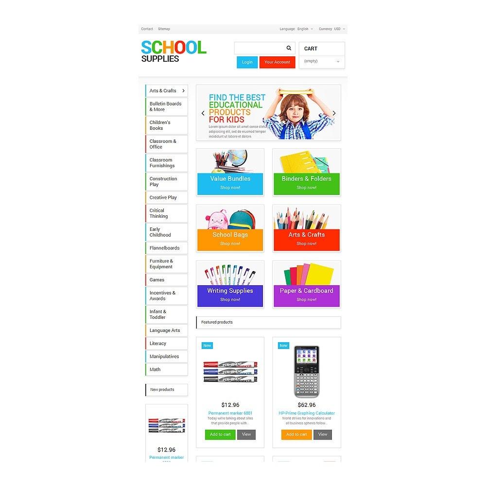 theme - Heim & Garten - School Supplies - 7