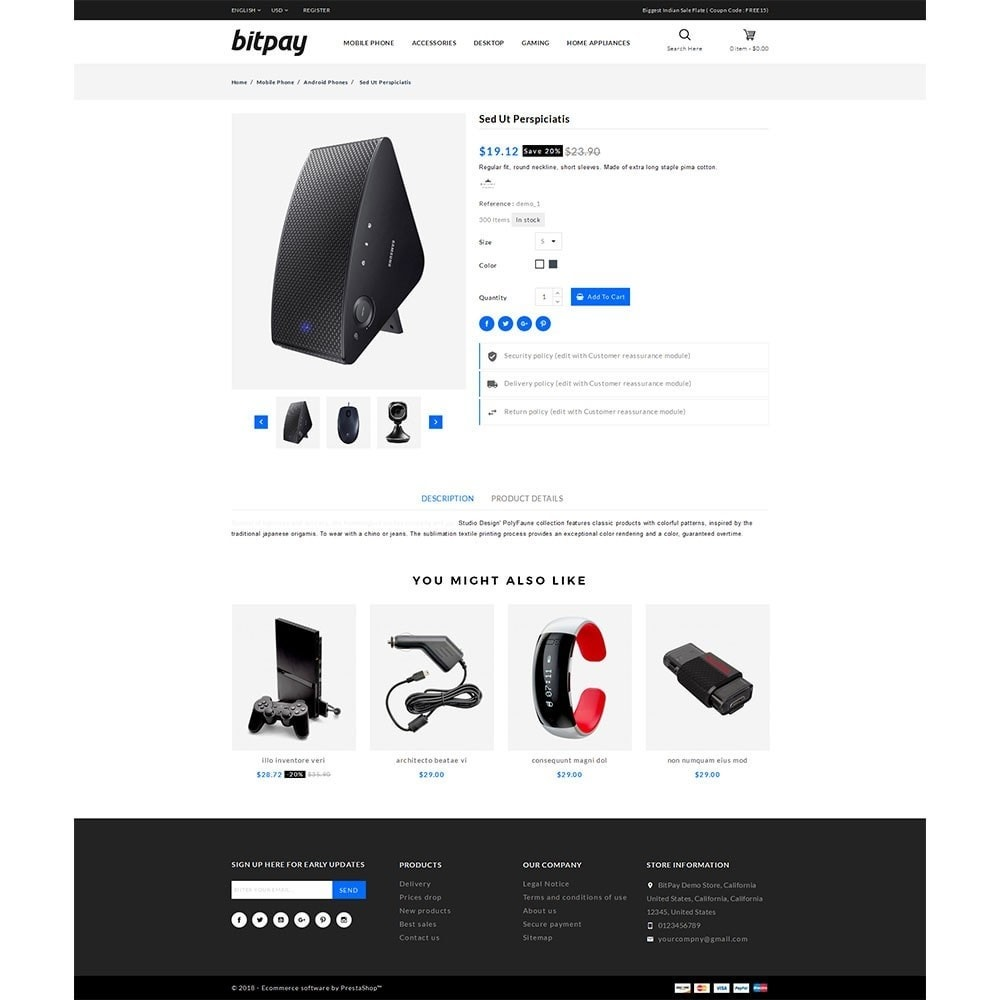 theme - Electrónica e High Tech - Bitpay Electronics Store - 5