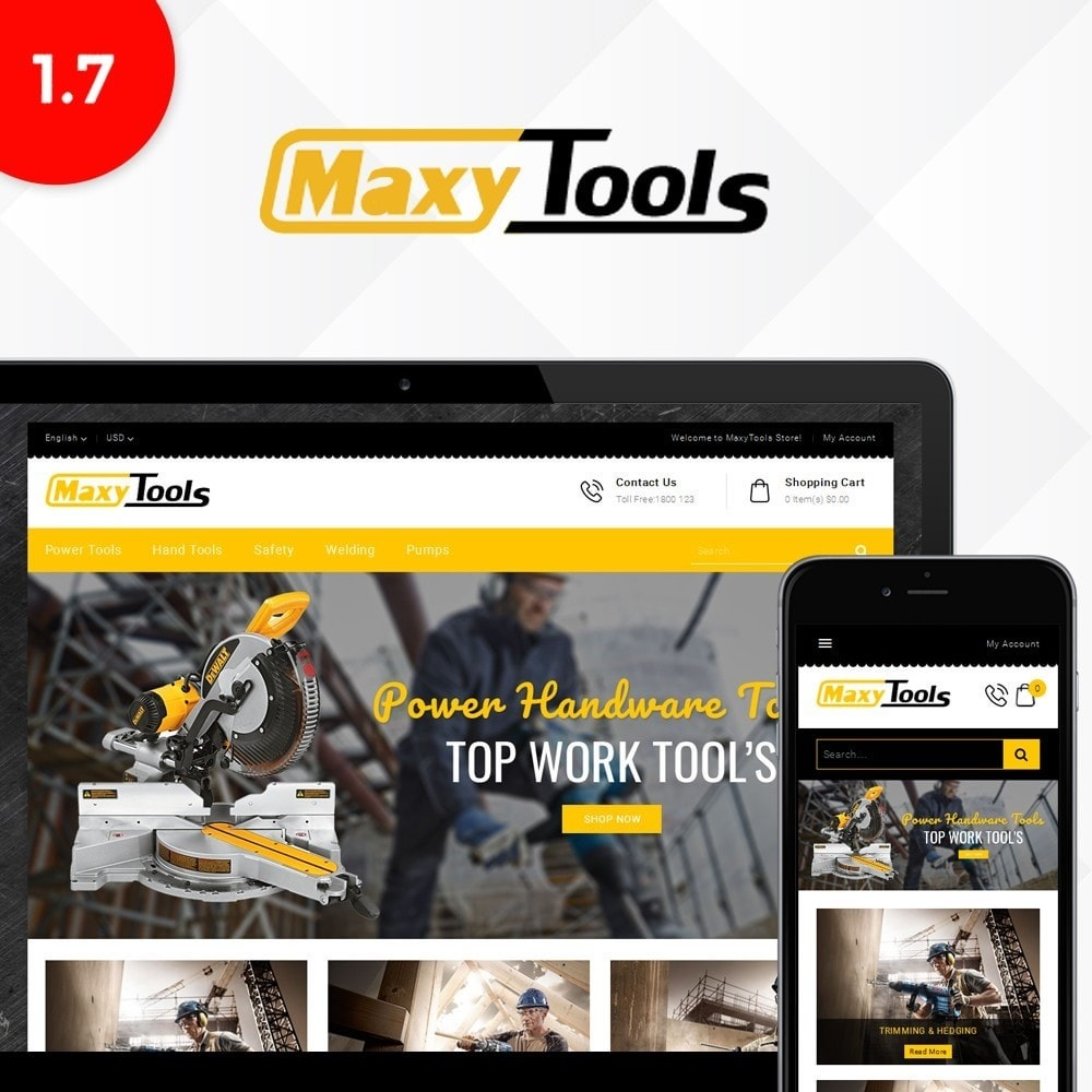 theme - Auto & Moto - MaxyTool Store - 1