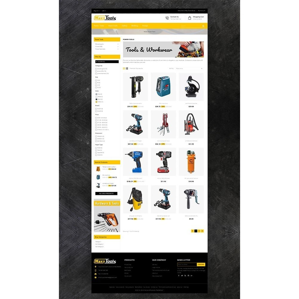 theme - Carros & Motos - MaxyTool Store - 3