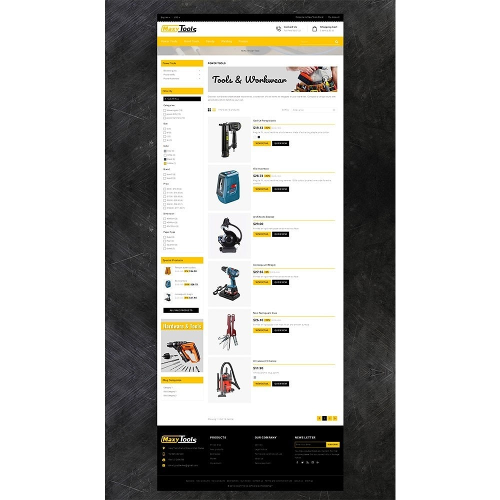 theme - Auto & Moto - MaxyTool Store - 4