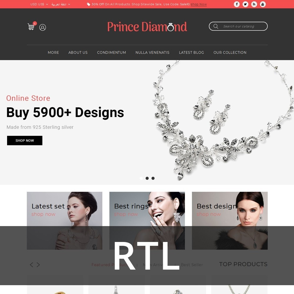 theme - Bijoux & Accessoires - Prince Diamond - The Jewelry Store - 3