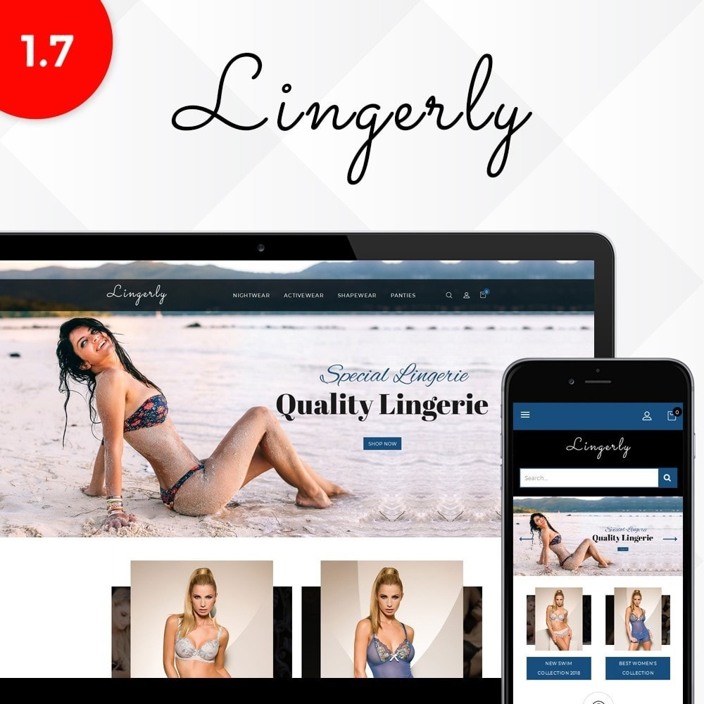 theme - Lenceria y Adultos - Lingerly Store - 1