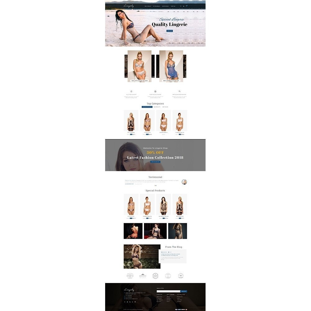 theme - Lenceria y Adultos - Lingerly Store - 2
