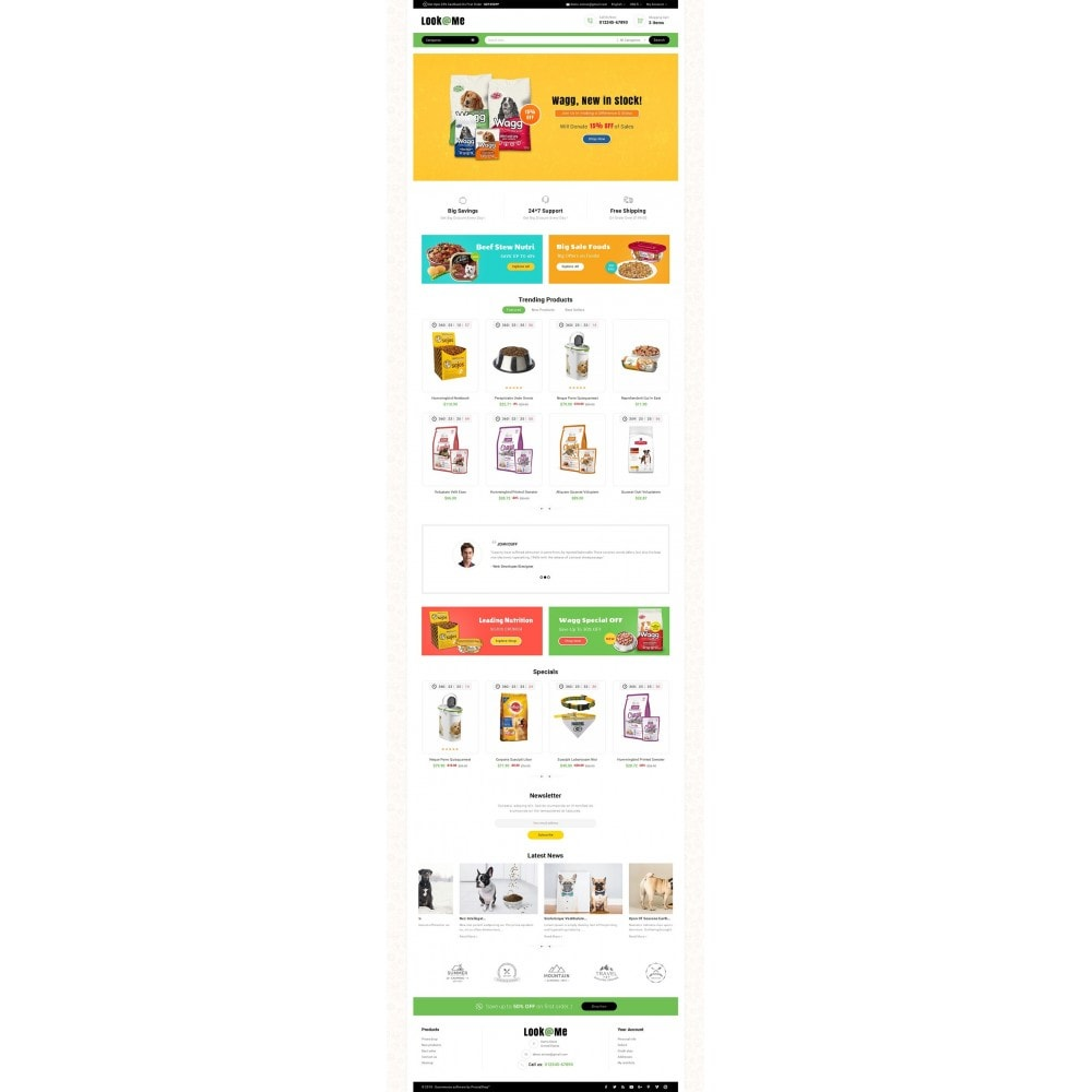 theme - Animals & Pets - Look me Pets Store - 2