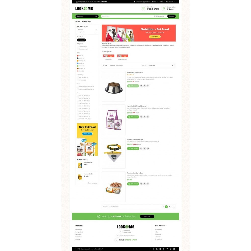 theme - Dieren - Look me Pets Store - 4