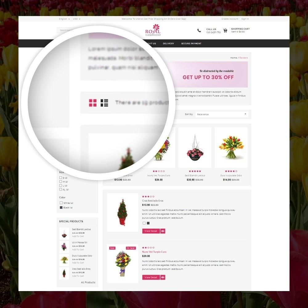 theme - Gifts, Flowers & Celebrations - Royal - Flower Store - 3