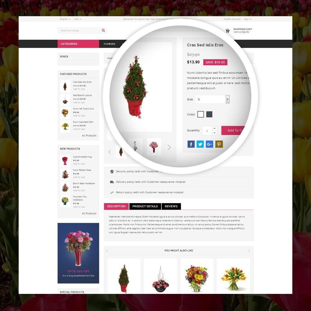 theme - Cadeaux, Fleurs et Fêtes - Royal - Flower Store - 4