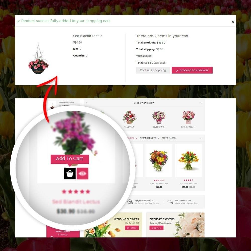 theme - Cadeaux, Fleurs et Fêtes - Royal - Flower Store - 5