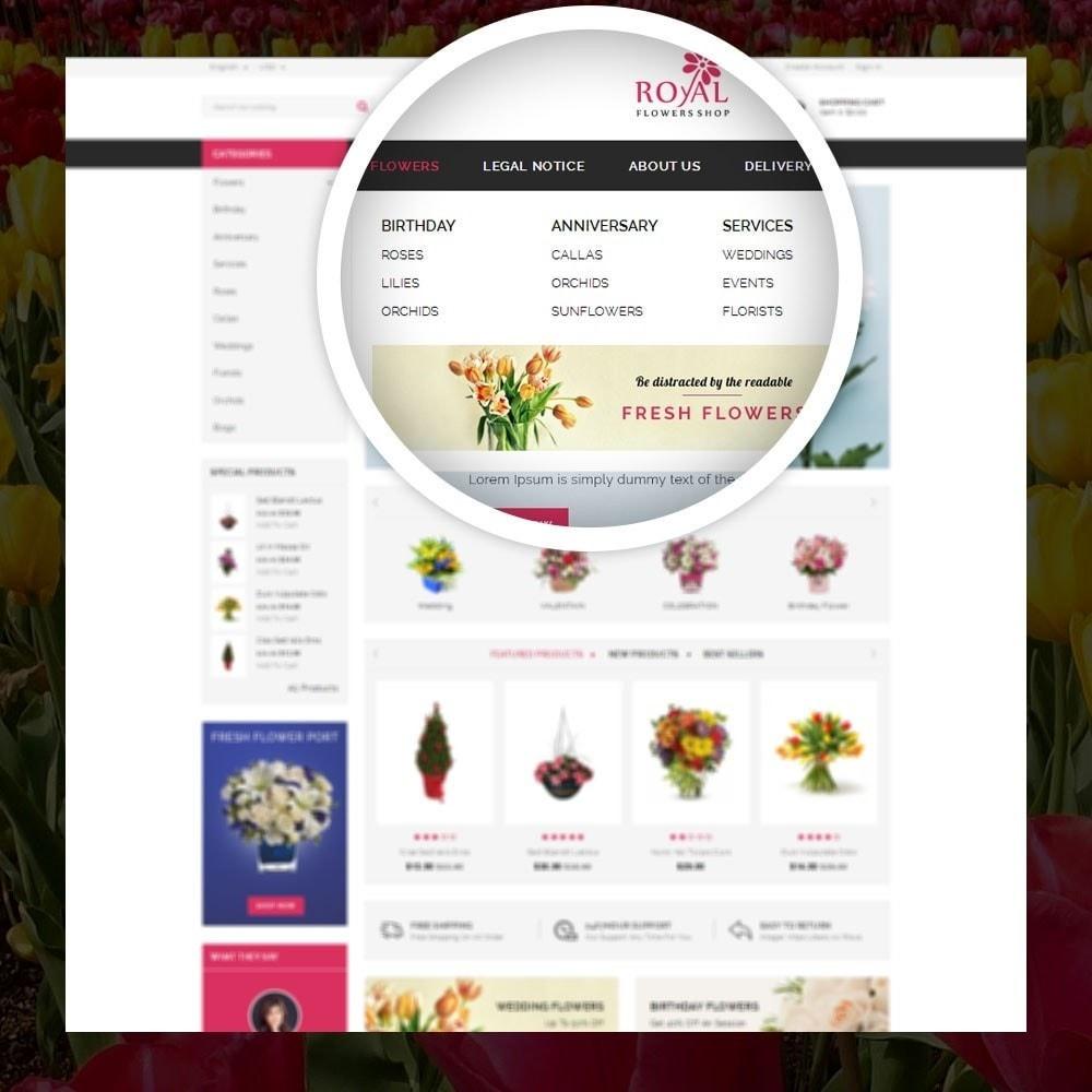 theme - Cadeaux, Fleurs et Fêtes - Royal - Flower Store - 7
