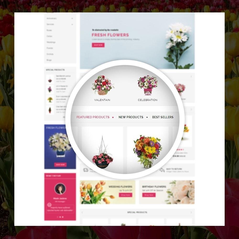 theme - Cadeaux, Fleurs et Fêtes - Royal - Flower Store - 9