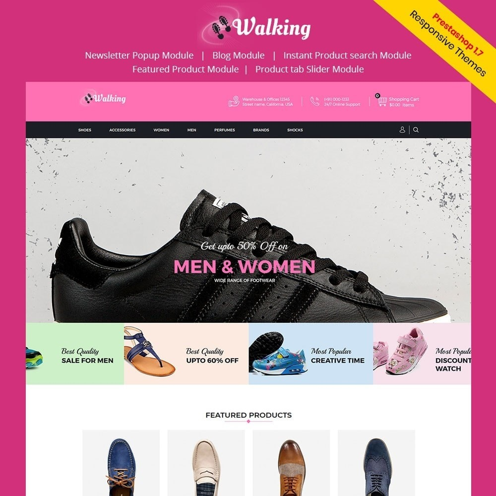 theme - Mode & Schuhe - Walking - Shoes Store - 1