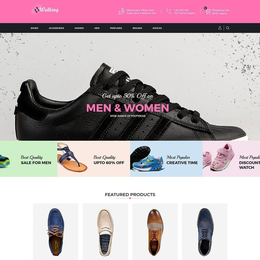 theme - Mode & Schuhe - Walking - Shoes Store - 2