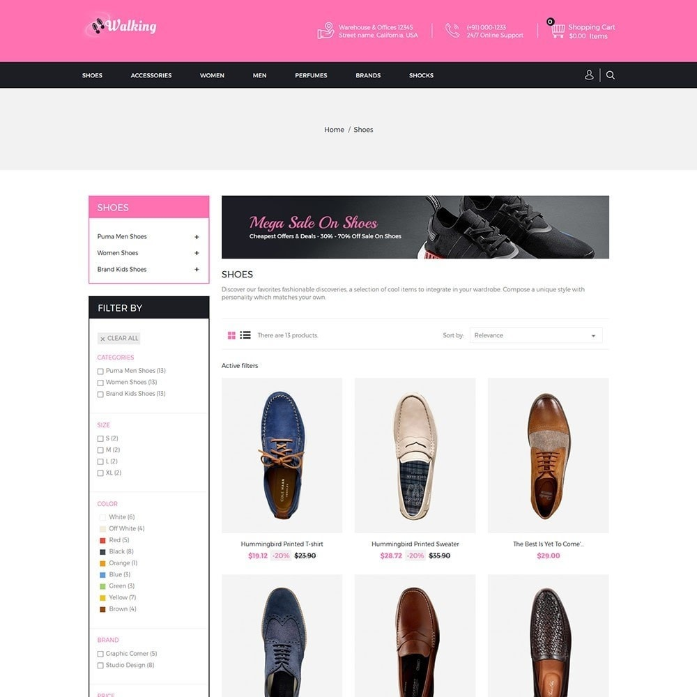 theme - Mode & Schuhe - Walking - Shoes Store - 3