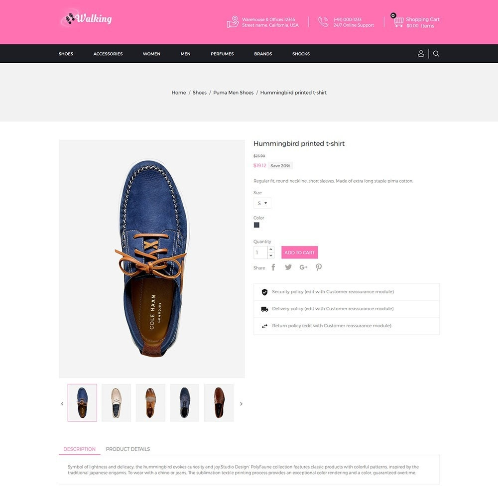 theme - Mode & Schuhe - Walking - Shoes Store - 5