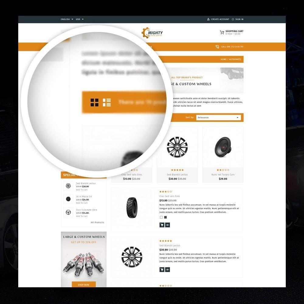 theme - Auto's & Motoren - Mighty - Autoparts Shop - 3