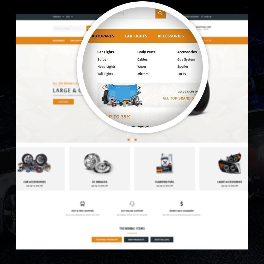 theme - Auto's & Motoren - Mighty - Autoparts Shop - 7