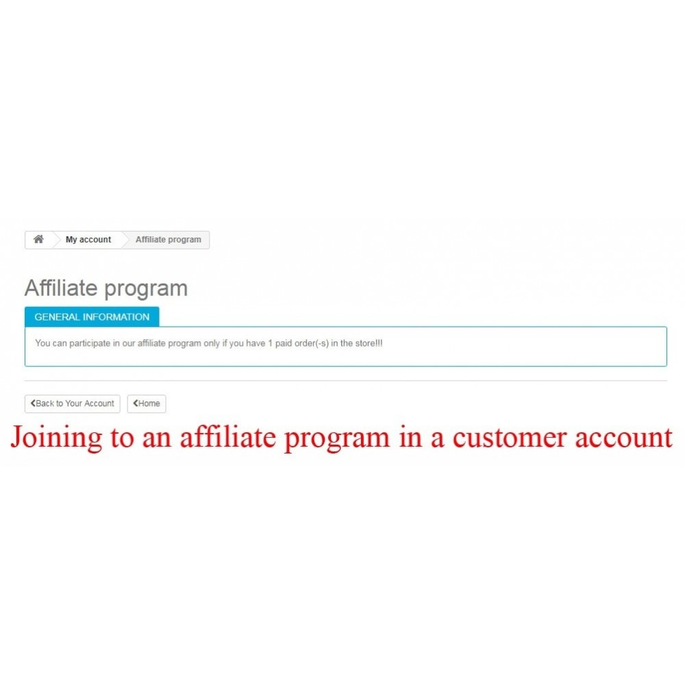 module - SEA SEM (paid advertising) & Affiliation Platforms - Extended Affiliate Program RefPRO - 12