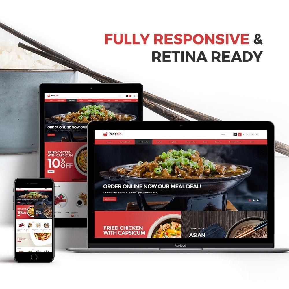 theme - Cibo & Ristorazione - YangXin - Chinese Restaurant - 3