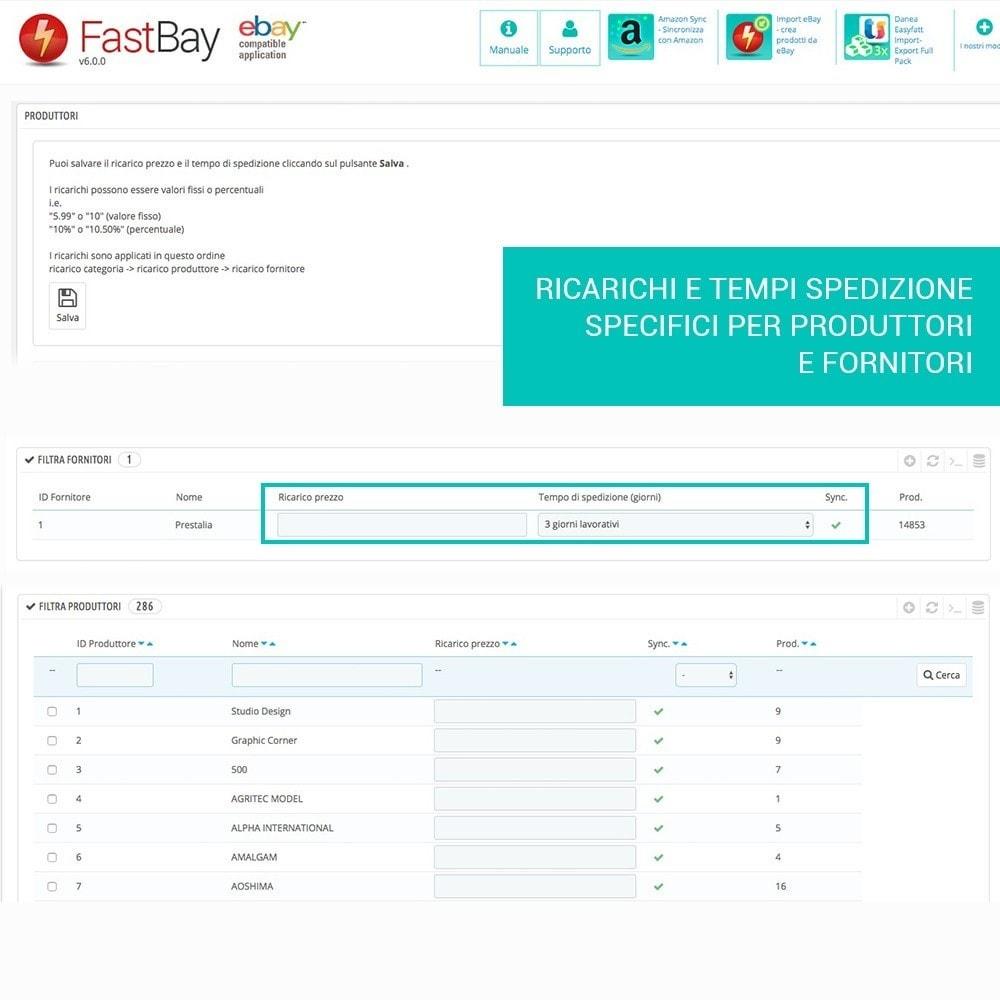 module - Marketplace - Fastbay - sincronizzazione con eBay Marketplace - 5