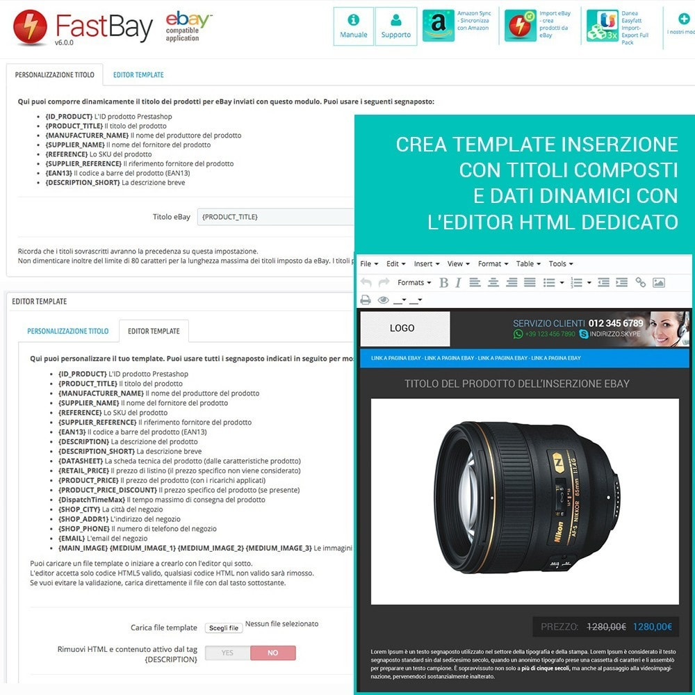 module - Marketplace - Fastbay - sincronizzazione con eBay Marketplace - 10