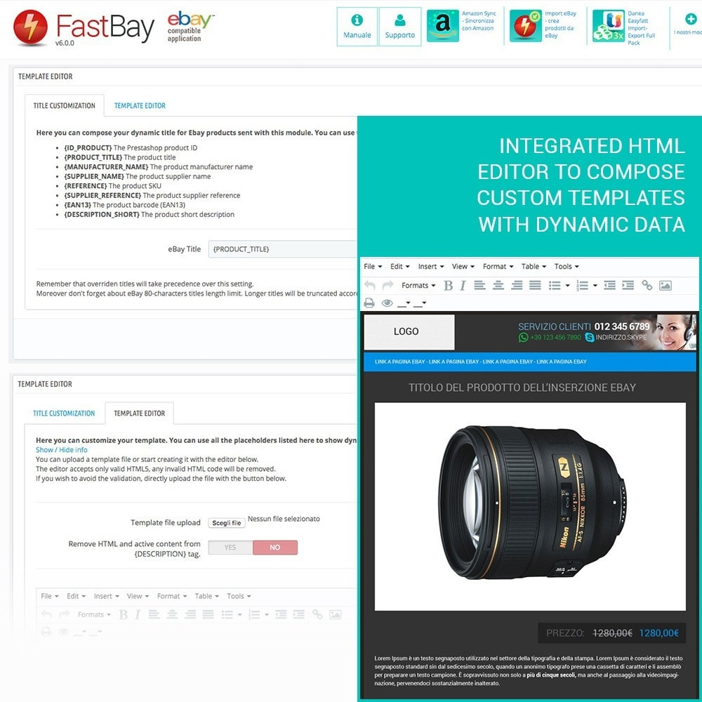 module - Marketplaces - FastBay - eBay Marketplace synchronization - 7