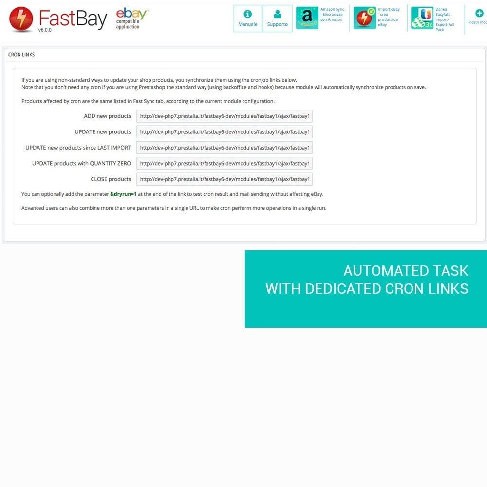 module - Marketplaces - FastBay - eBay Marketplace synchronization - 11