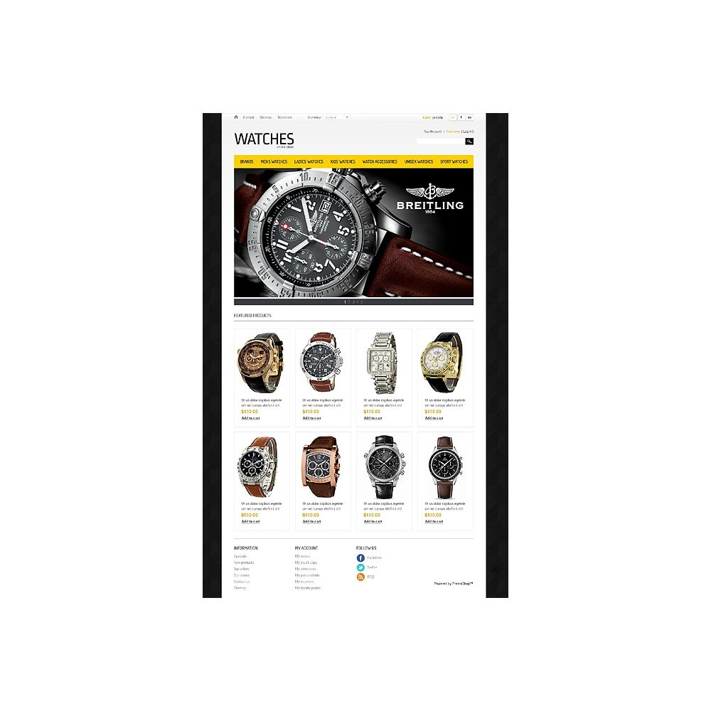 theme - Mode & Schuhe - Watches Store - 1