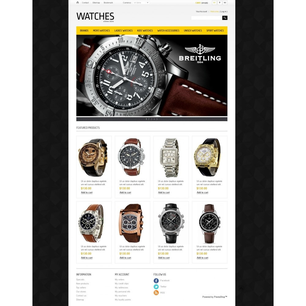 theme - Mode & Schuhe - Watches Store - 3