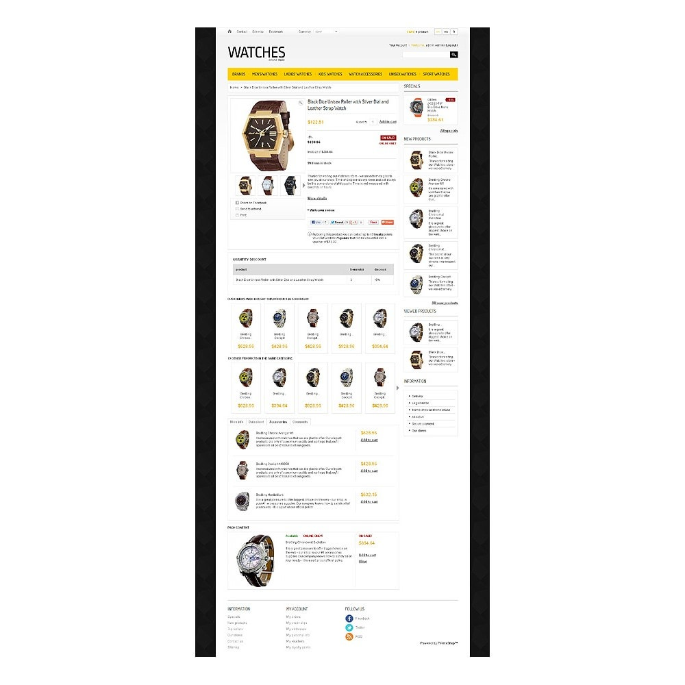 theme - Mode & Schuhe - Watches Store - 6